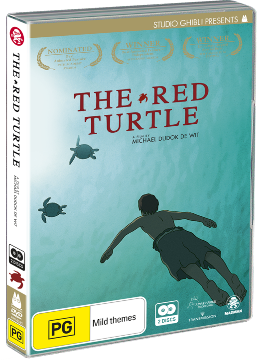 The Red Turtle Dvd Madman Entertainment
