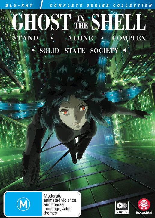 Ghost In The Shell Stand Alone Complex Complete Series Solid State Society Collection Blu Ray Blu Ray Madman Entertainment
