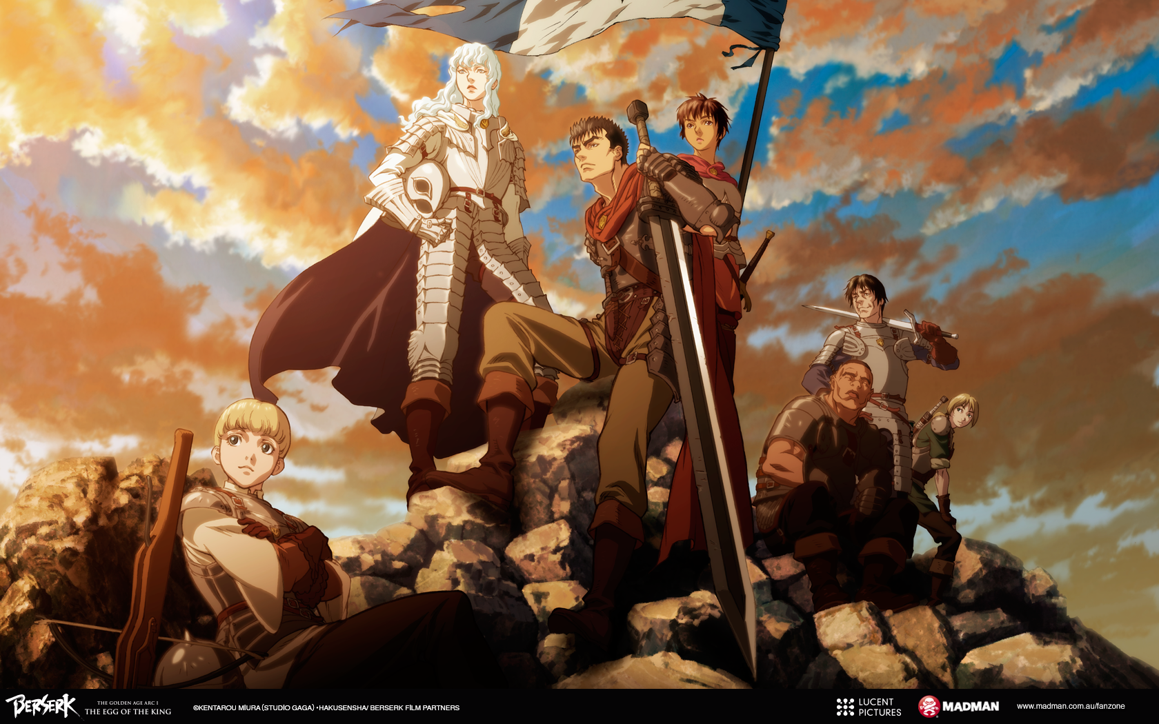 Berserk Movie 1 The Egg Of The King Wallpapers Madman Entertainment