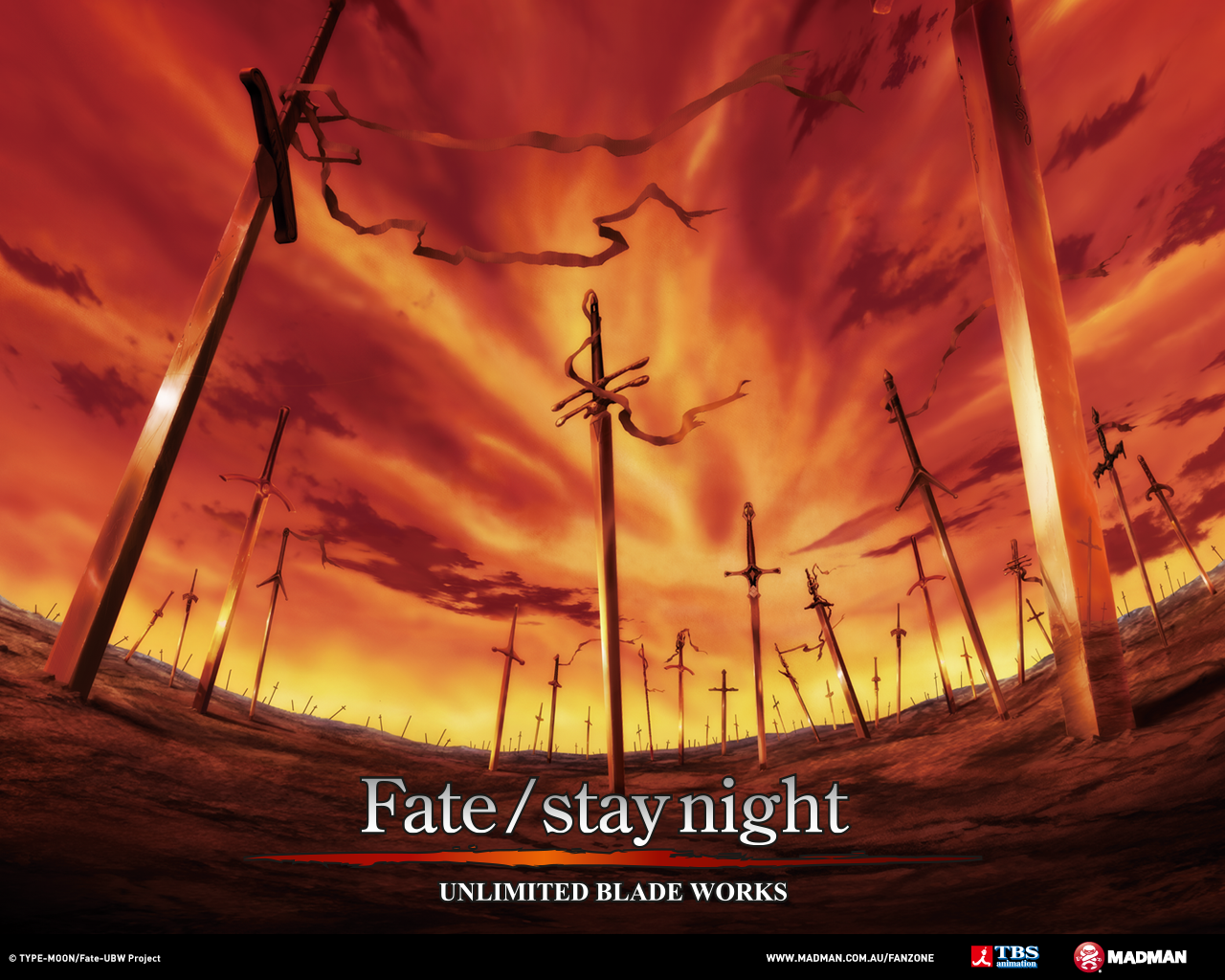 Anime Wallpapers Fate Stay Night Unlimited Blade Works Madman