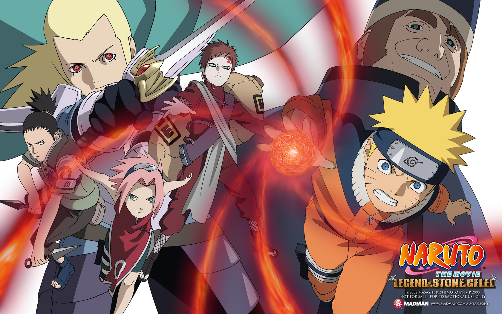 Naruto The Movie 2 Legend Of The Stone Of Gelel Madman