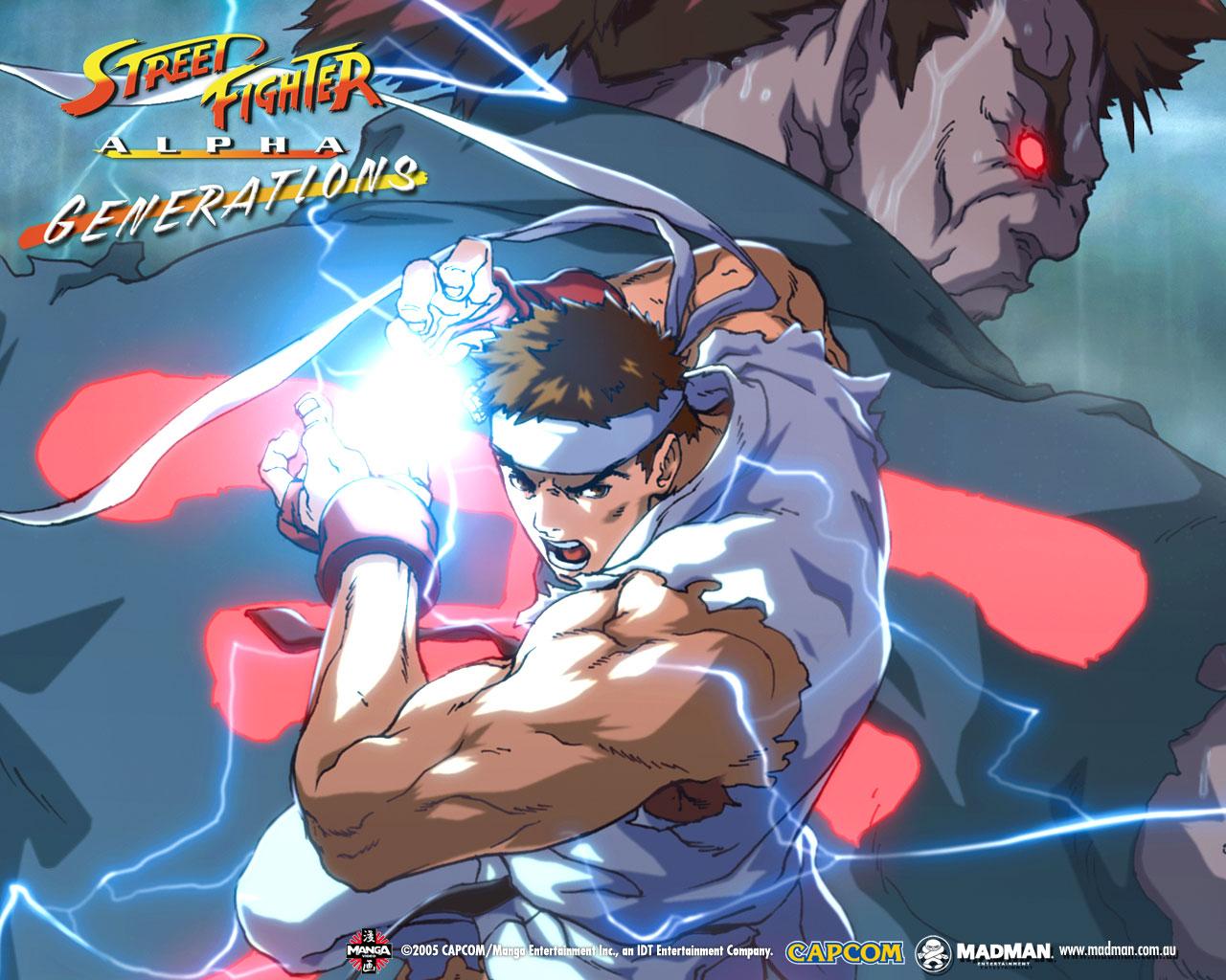 Street Fighter Alpha Generations Madman Entertainment